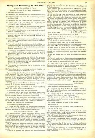 Handelingen van de Raad 1901-05-23