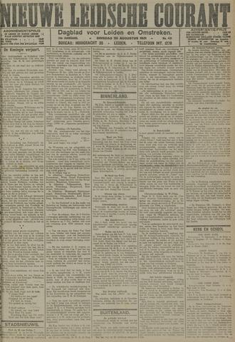 Nieuwe Leidsche Courant 1921-08-30