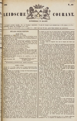 Leydse Courant 1884-03-13