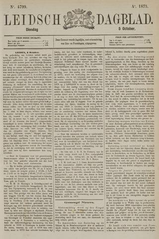 Leidsch Dagblad 1875-10-05