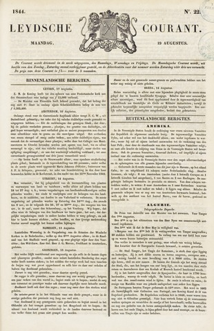 Leydse Courant 1844-08-19