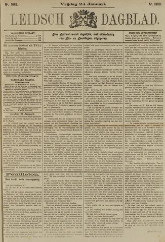 Leidsch Dagblad 1890-01-24