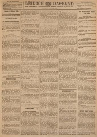 Leidsch Dagblad 1923-02-12