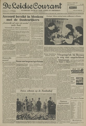 Leidse Courant 1955-04-15