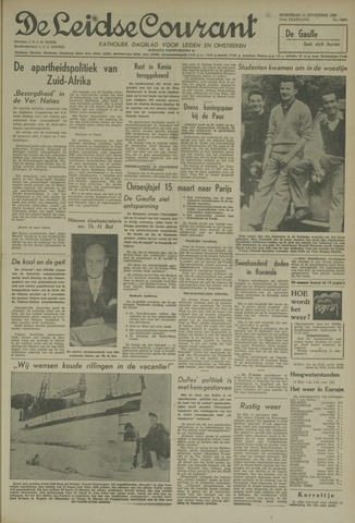 Leidse Courant 1959-11-11
