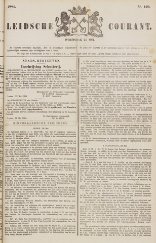 Leydse Courant 1884-05-21