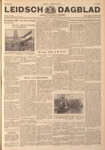 Leidsch Dagblad 1947-02-28