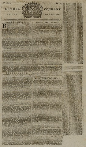 Leydse Courant 1803-02-25