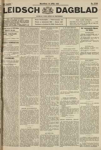 Leidsch Dagblad 1932-04-18