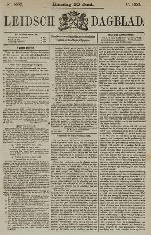 Leidsch Dagblad 1882-06-20