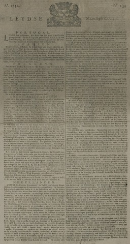 Leydse Courant 1734-11-08