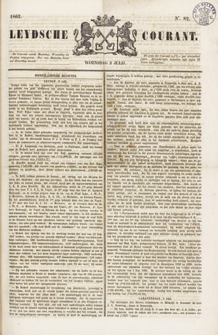 Leydse Courant 1862-07-09