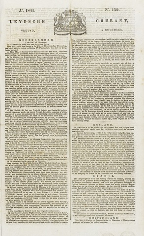 Leydse Courant 1841-11-19