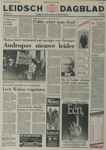 Leidsch Dagblad 1982-11-12