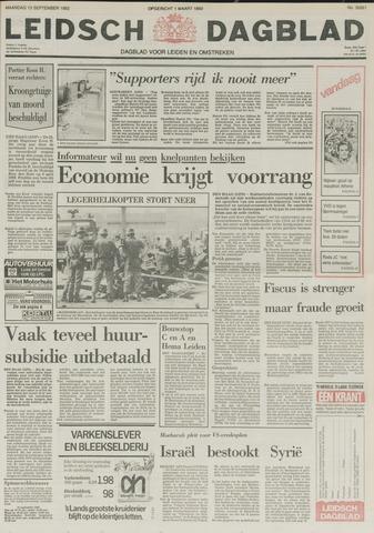 Leidsch Dagblad 1982-09-13