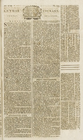 Leydse Courant 1819-10-22