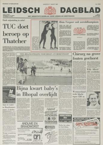 Leidsch Dagblad 1985-02-18
