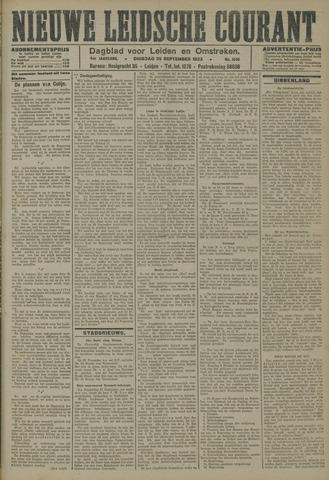 Nieuwe Leidsche Courant 1923-09-25