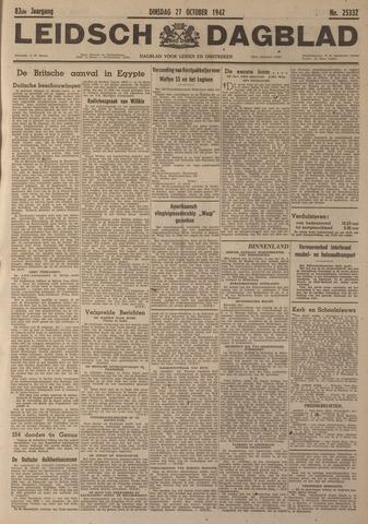 Leidsch Dagblad 1942-10-27