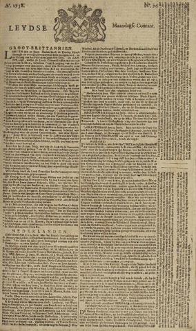 Leydse Courant 1758-06-26