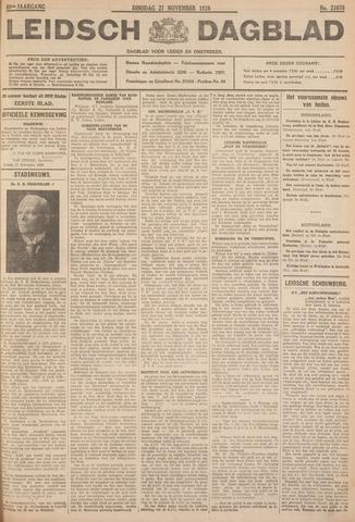 Leidsch Dagblad 1928-11-27