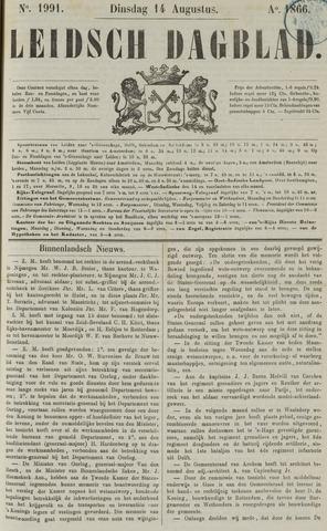 Leidsch Dagblad 1866-08-14