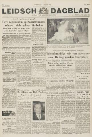 Leidsch Dagblad 1957