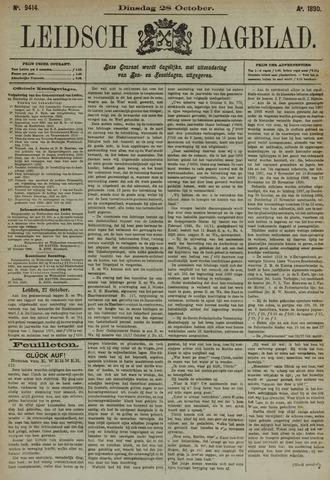 Leidsch Dagblad 1890-10-28