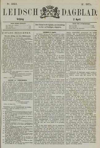 Leidsch Dagblad 1875-04-02