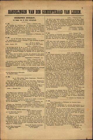 Handelingen van de Raad 1872-02-09