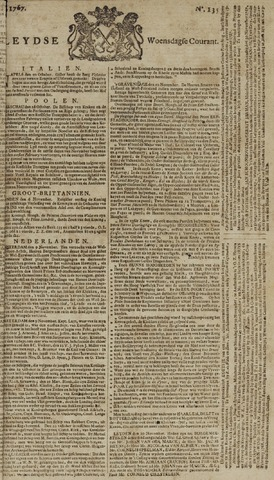 Leydse Courant 1767-11-11