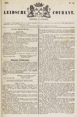 Leydse Courant 1882-01-17