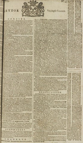 Leydse Courant 1769-04-14