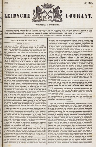 Leydse Courant 1876-11-01