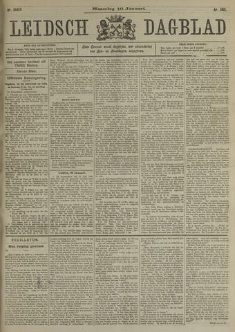 Leidsch Dagblad 1911-01-16