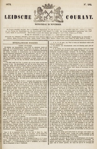Leydse Courant 1872-11-28