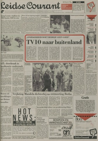 Leidse Courant 1989-07-10