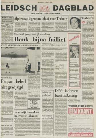 Leidsch Dagblad 1982-07-01