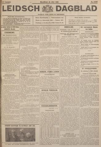 Leidsch Dagblad 1930-07-28