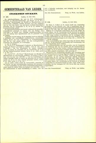 Handelingen van de Raad 1934-07-14