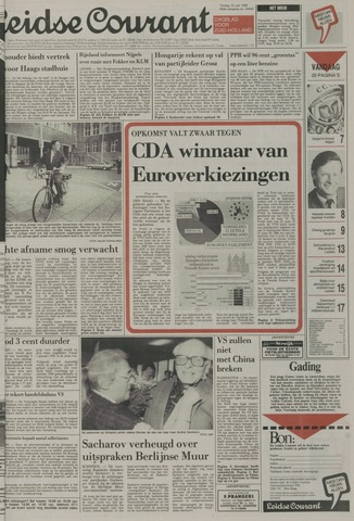 Leidse Courant 1989-06-16
