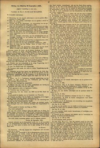 Handelingen van de Raad 1889-09-26