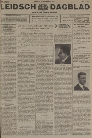Leidsch Dagblad 1935-11-29