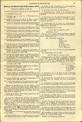 Handelingen van de Raad 1918-12-12