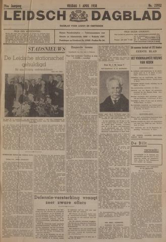 Leidsch Dagblad 1938-04-01