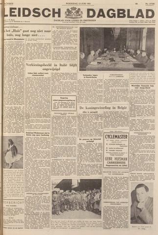 Leidsch Dagblad 1951-06-13