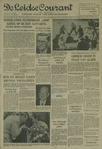 Leidse Courant 1964-08-08