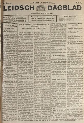 Leidsch Dagblad 1933-10-18