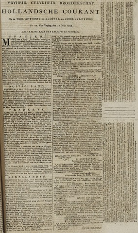 Leydse Courant 1795-05-22