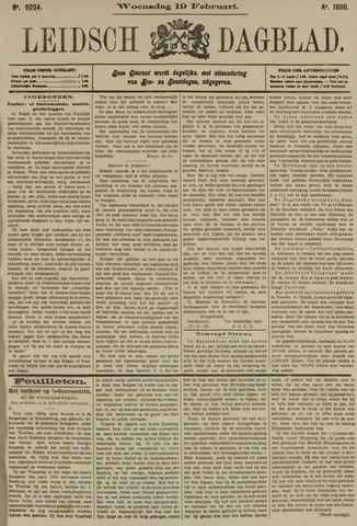 Leidsch Dagblad 1890-02-19